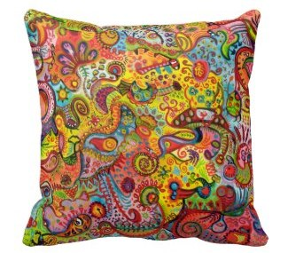 Add a Colorful Impact with Throw Pillows