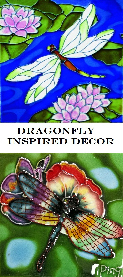 Dragonfly Inspired Decor