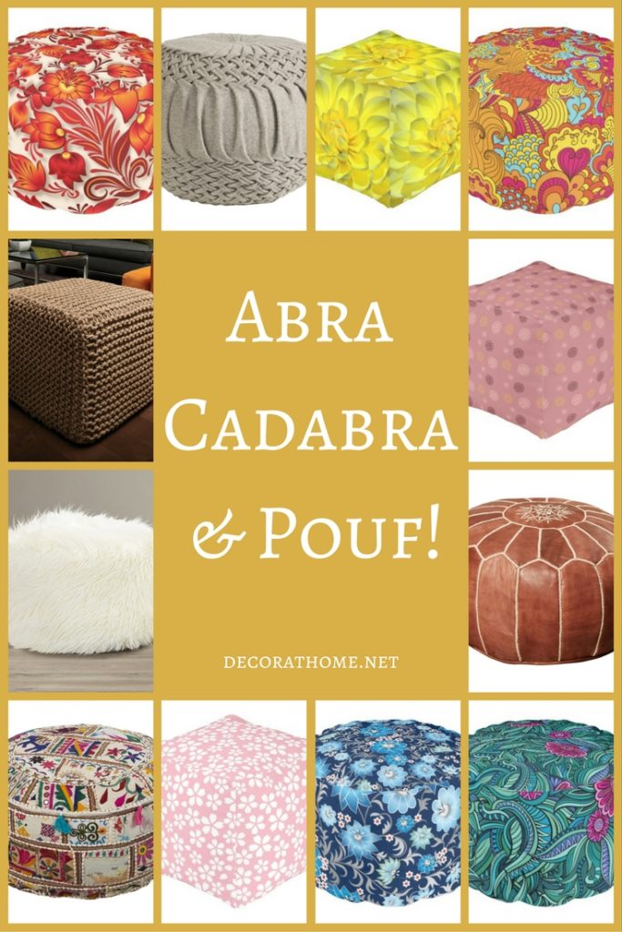 Abra Cadabra and Pouf