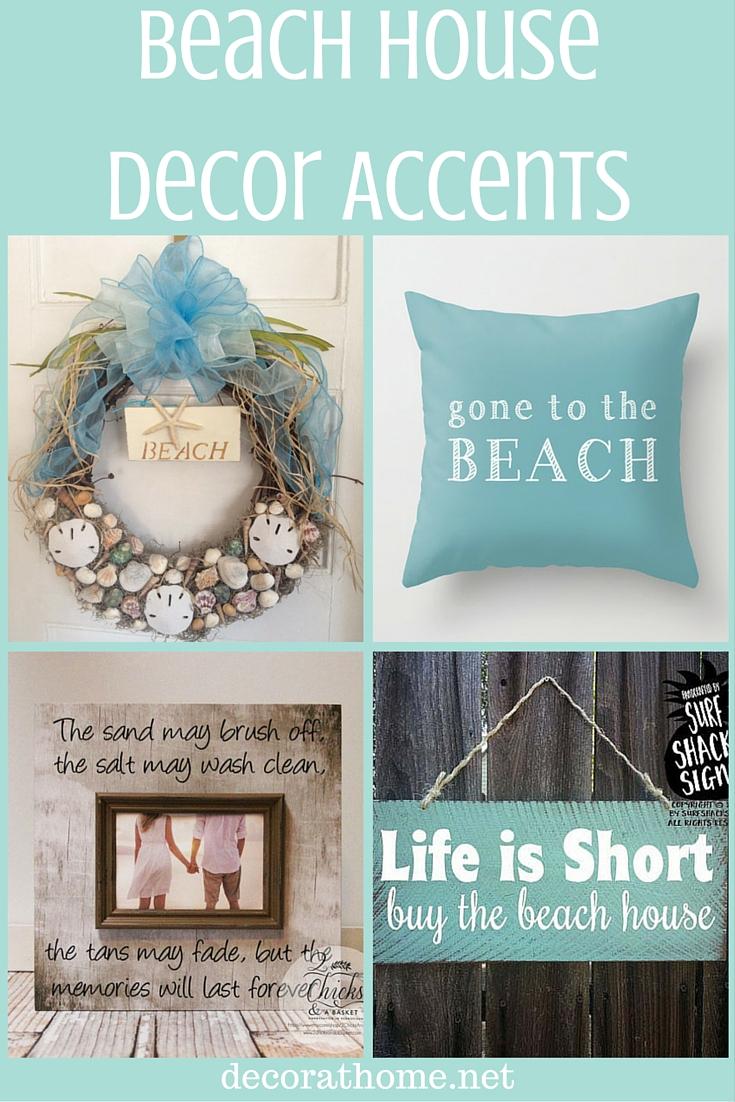 Beach House Decor Accents