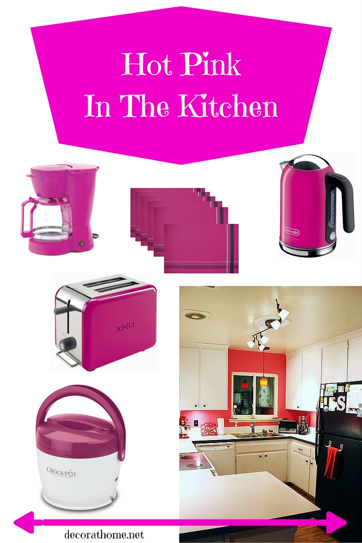 Hot Pink In The Kitchen