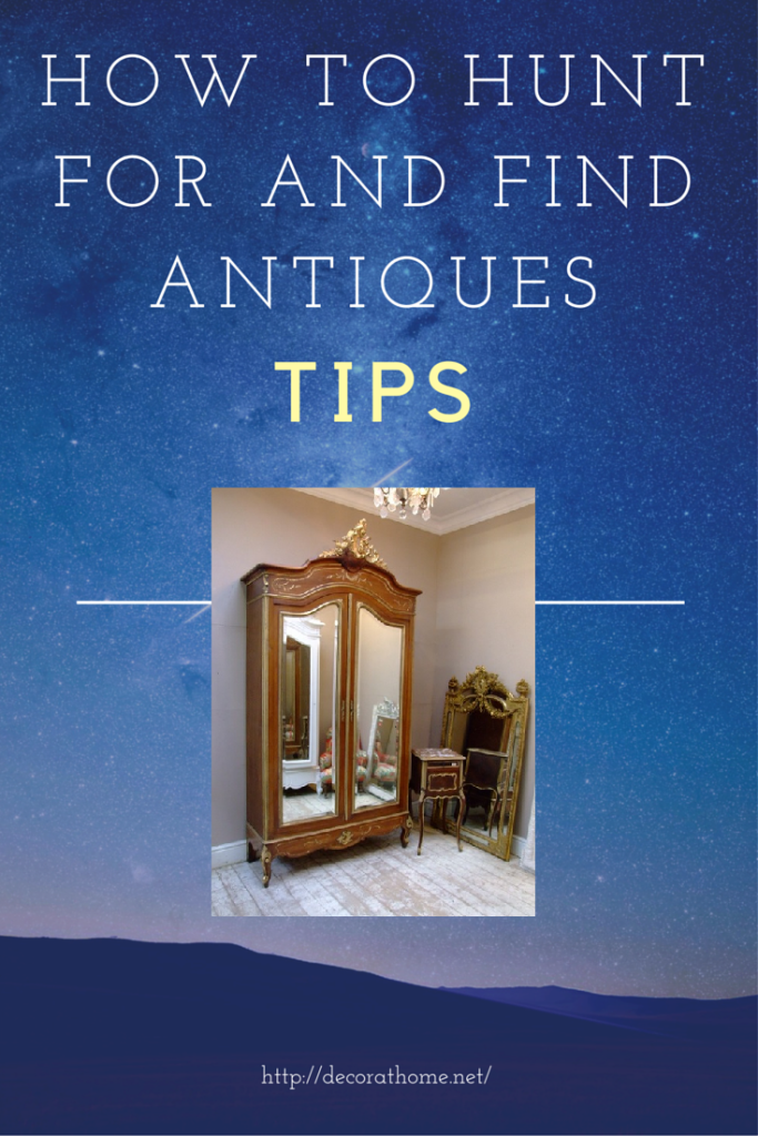 How to Hunt for and Find Antiques - Tips
