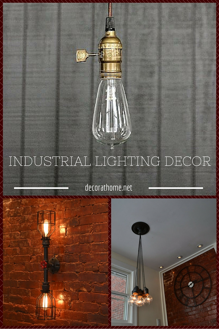 INDUSTRIAL LIGHTING DECOR