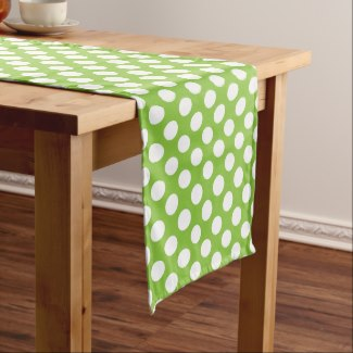 Lime Green Table Runner