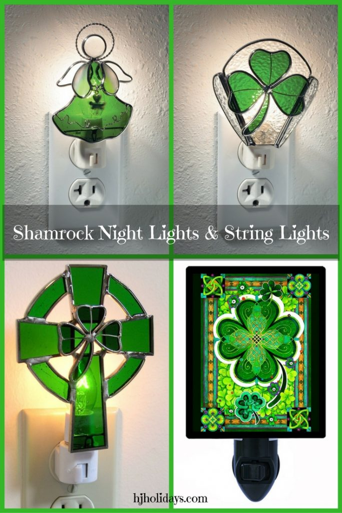 Shamrock Night Lights and String Lights