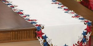 Patriotic Table Decor