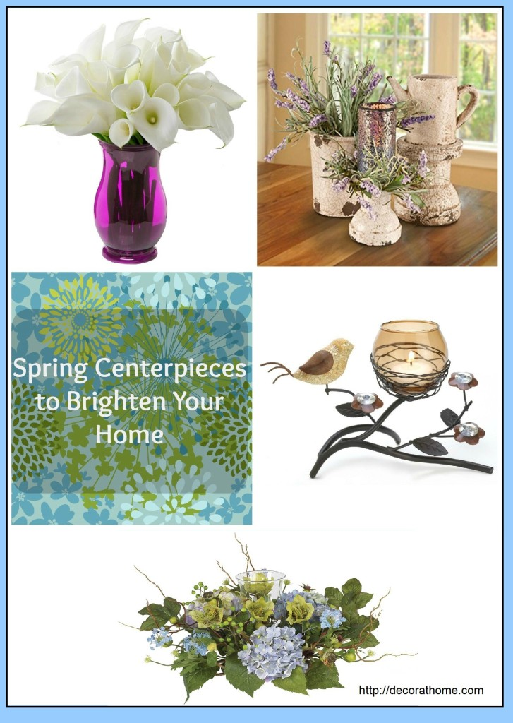 Spring Centerpieces to Brighten Your Home