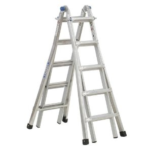 Werner Heavy Duty Telescoping Extension Ladder